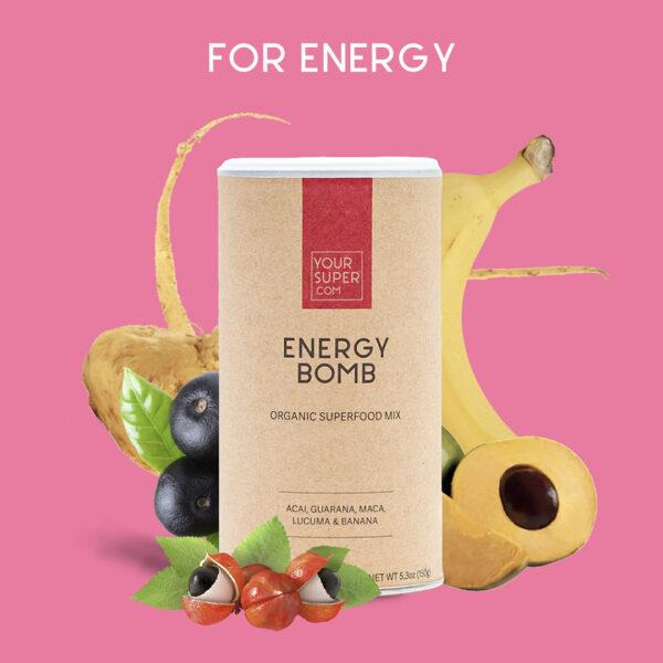 Organic Energy Bomb Mix